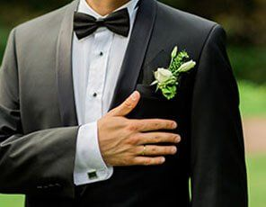 Groom's Suit Cleaning & Alterations
